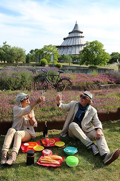 Picknick im Gartentraum